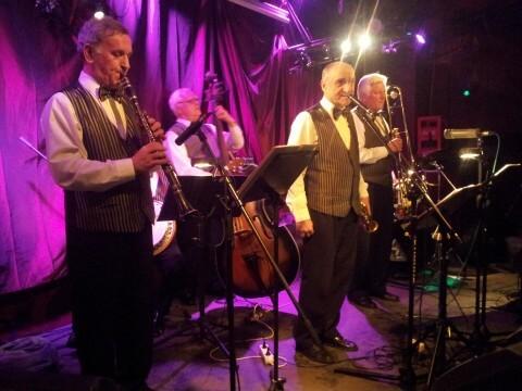 Warsaw Dixielanders w Jazz Club Tygmont Impreza Swing Jazz Mess