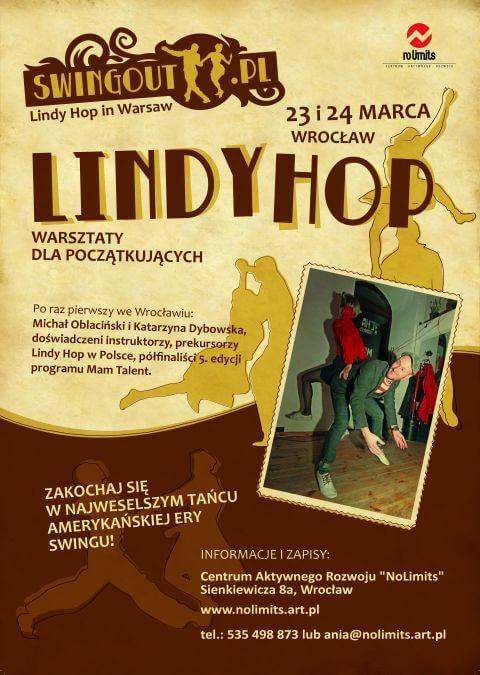 Warsztaty zajęcia Lindy Hop we Wrocławiu