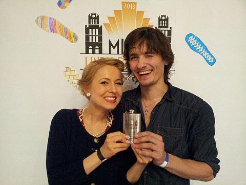 Kasia i Egor zwycięzcy konkursu Jack and Jill na festiwalu MLX w Mińsku