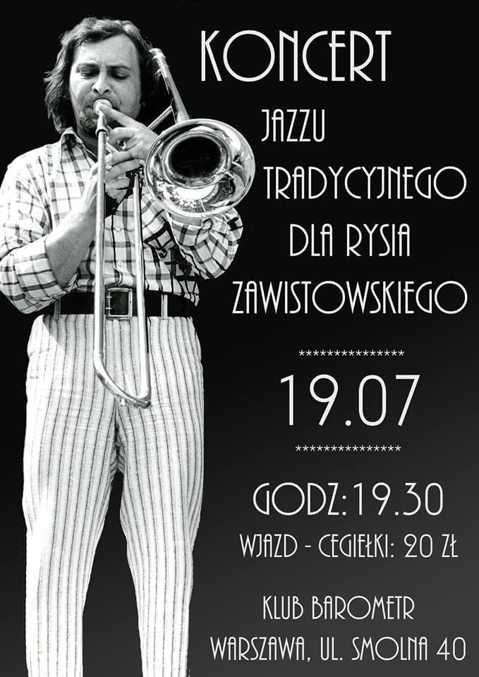 Koncert dla Ryśla Zawistowskiego Barometr Warszawa