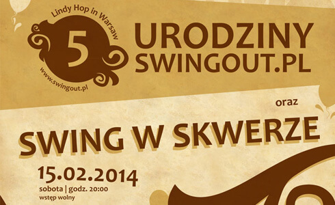 5 lat Lindy Hop w Warszawie