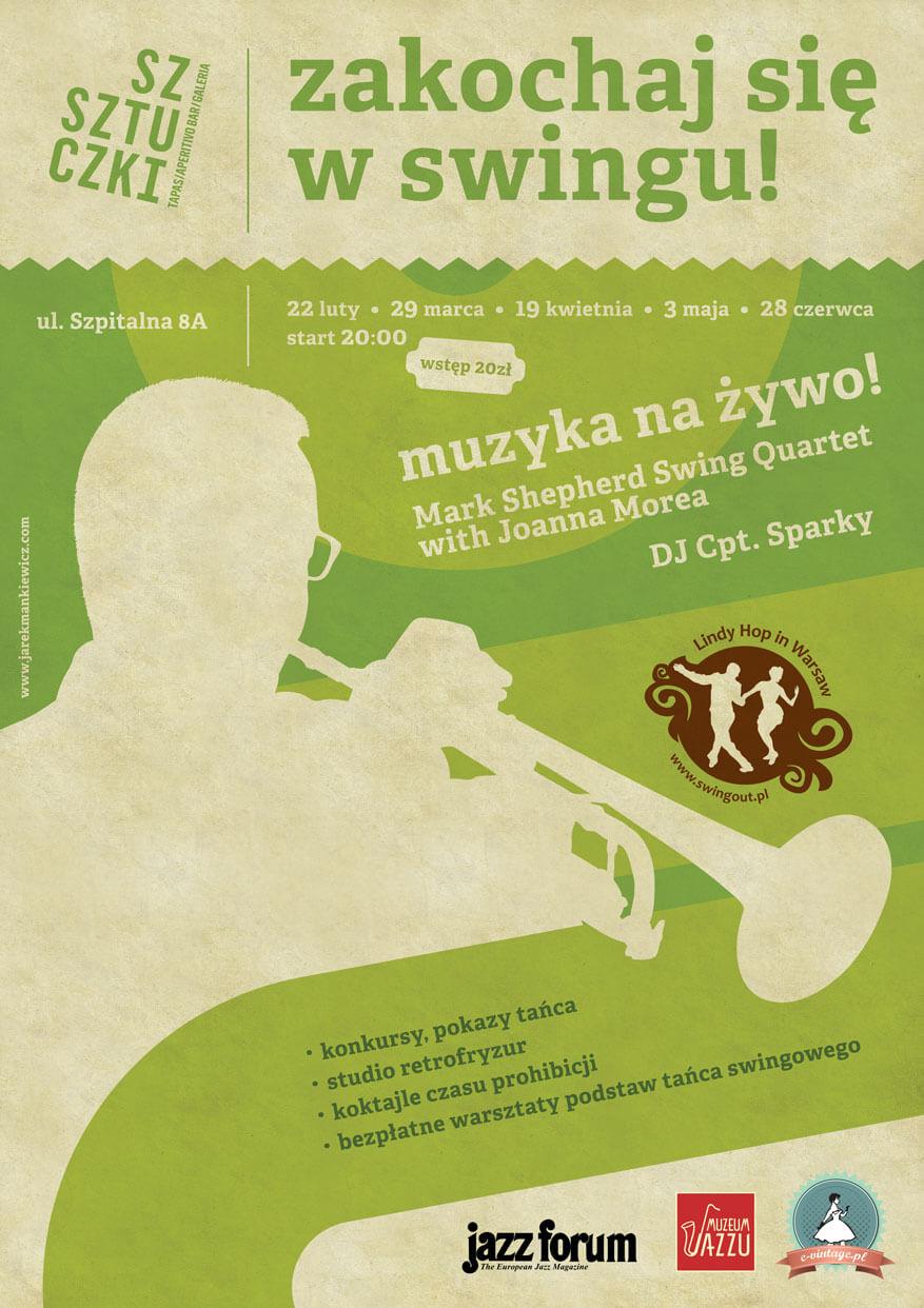 Impreza lindy hop w Warszawie