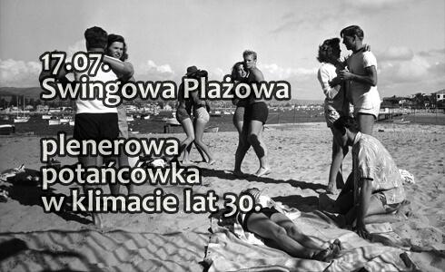 Swingowa Plażowa - plenerowa potańcówka w klimacie lat 30.