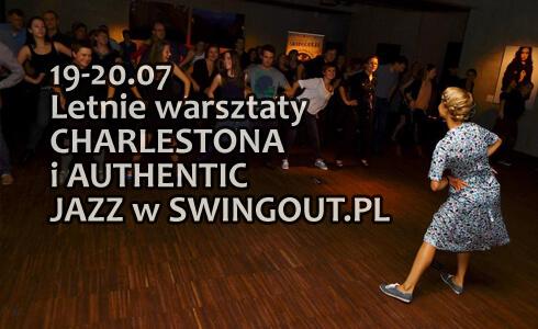 Warsztaty Charlestona i Authentic Jazz w Warszawie