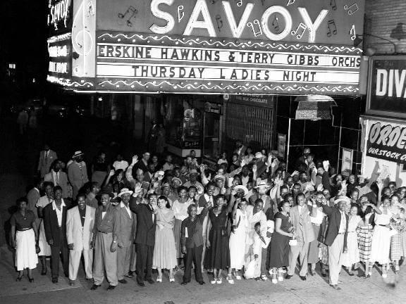 Savoy Ballroom w Harlemie