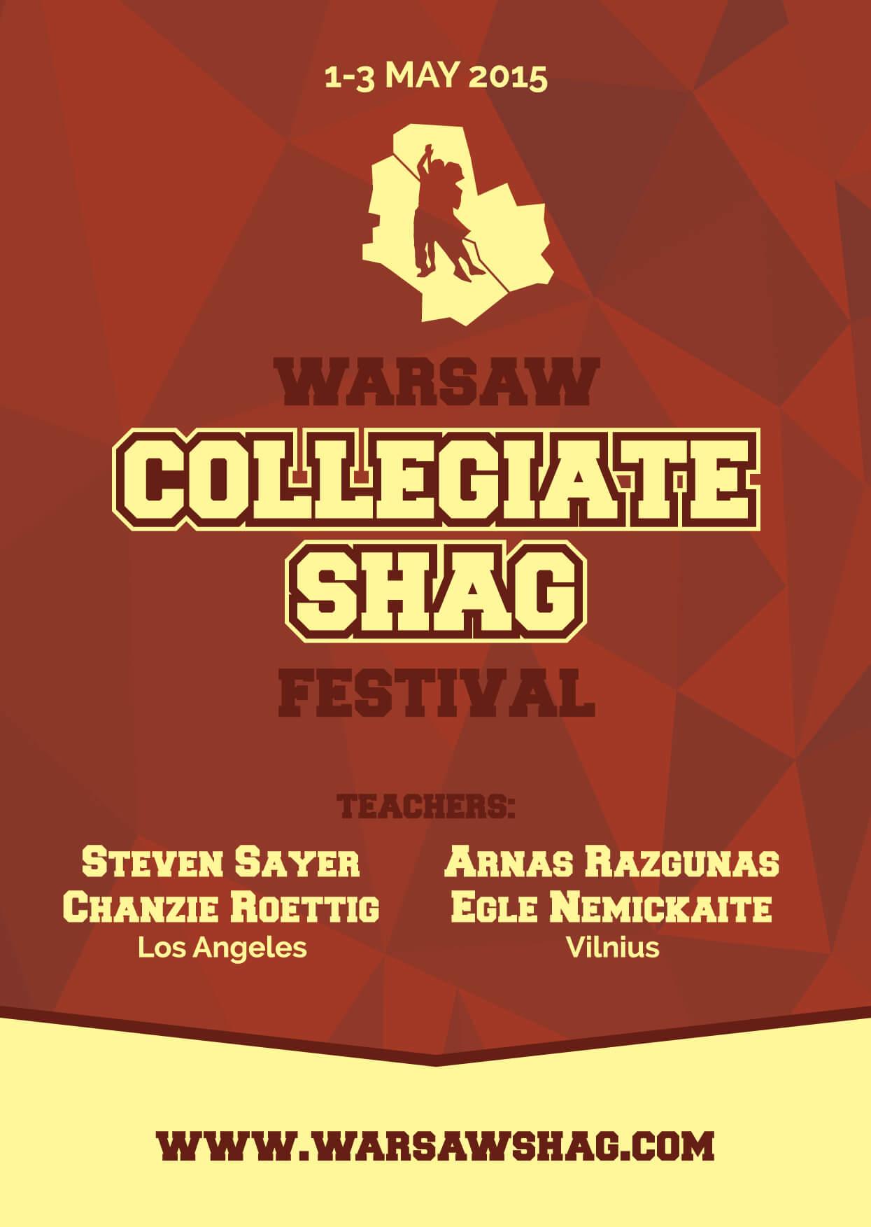 Festiwal tańca Coielegiate Shag w Warszawa