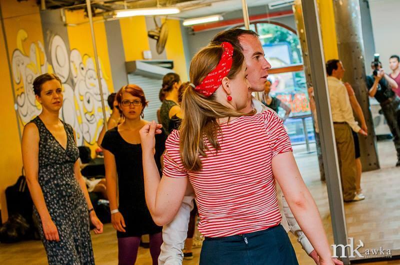 Kliknij w zdjęcie, aby zobaczyć galerię Warsaw Lindy Hop Exchange