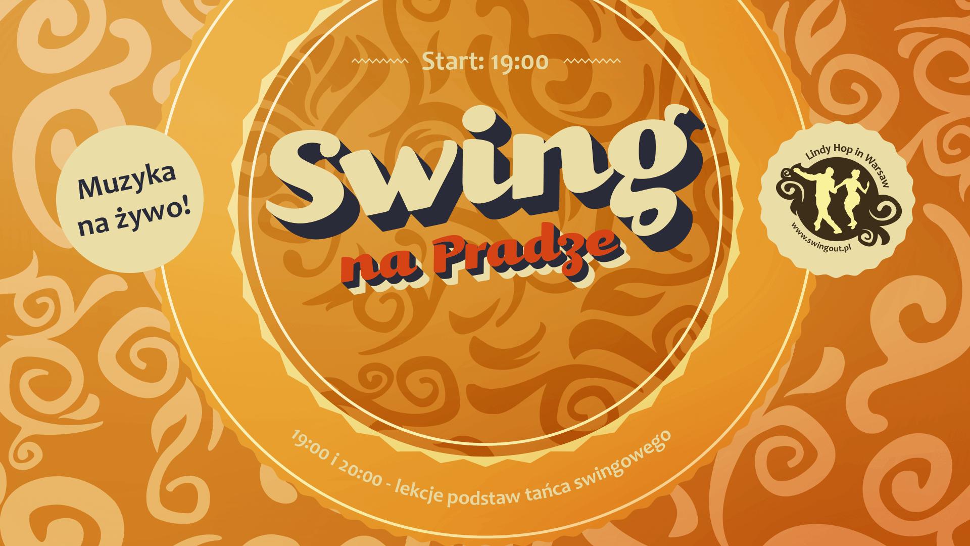 Swing na Pradze - potańcówka swingowa w Centrum Promocji Kultury