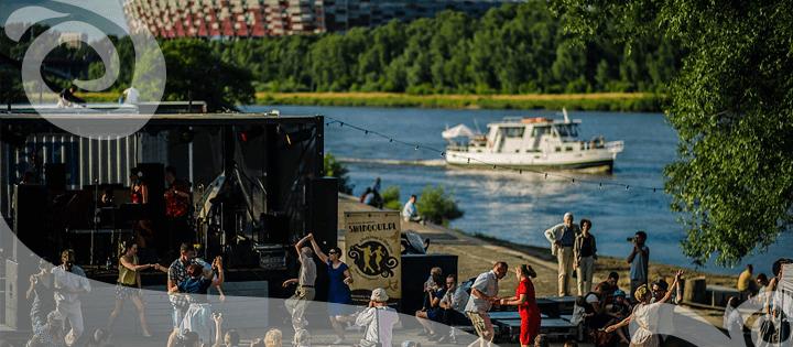 Potańcówki Swingowe lato warszawa cud nad Wisłą