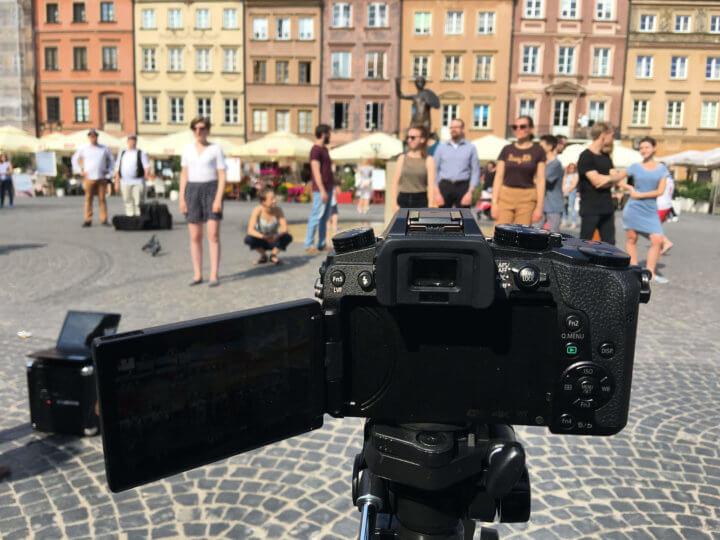 I Blues Warsaw, filmowanie choreografii tańca bluesowego