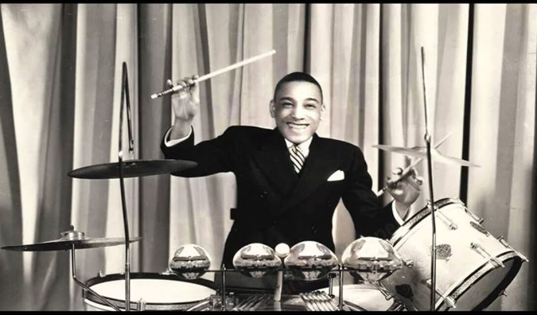 Perkusista swingowy Chick Webb