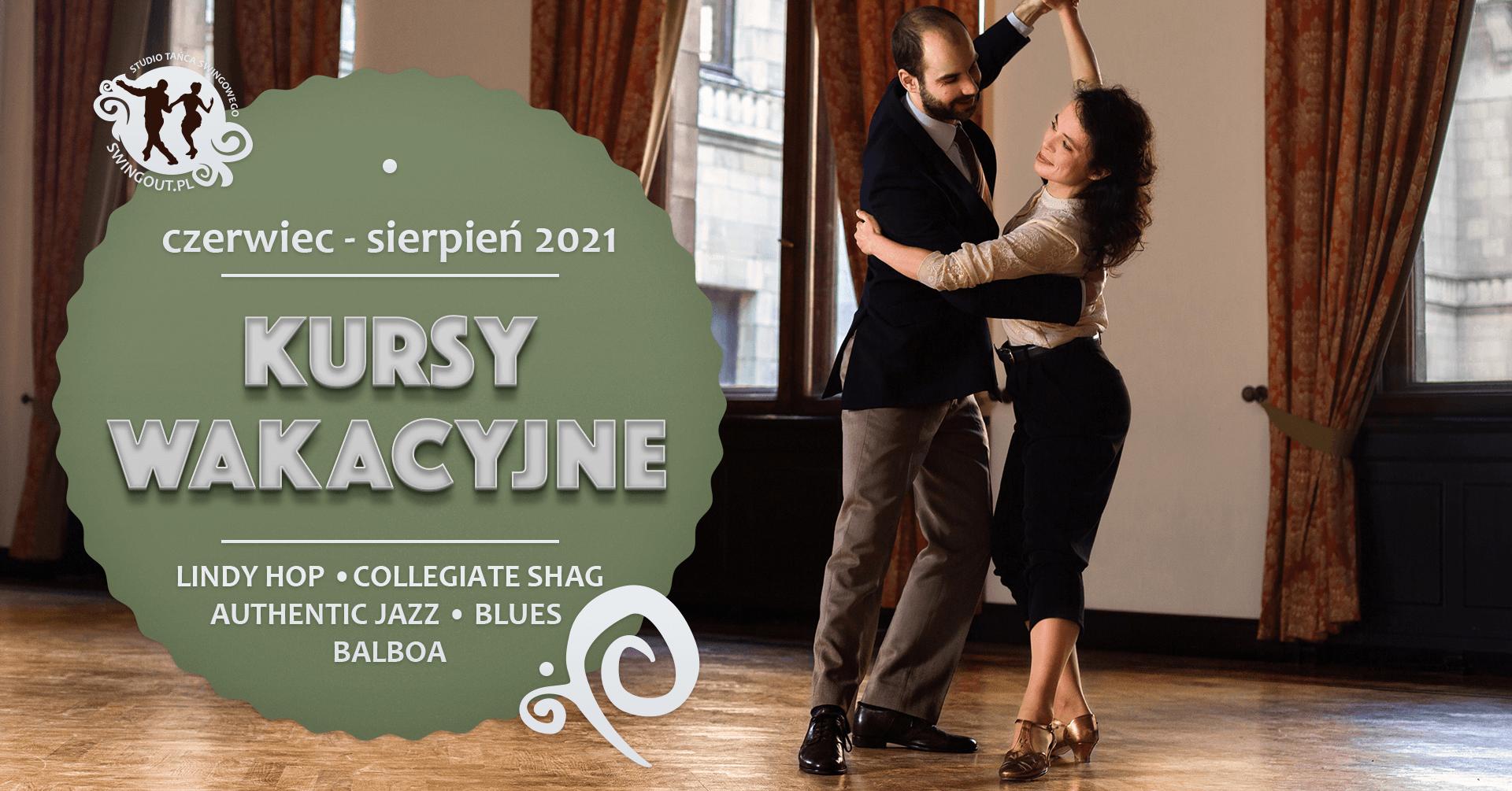 Para tańcząca Lindy Hop w Pałacu Kultury i Nauki w Warszawie